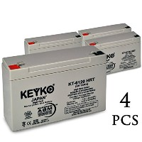 6V 12Ah SLA シール Lead Acid AGM ディープ Cycle Rechargeable リプレイスメント バッテリー デザイン for Longest life in UPS,...