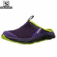 値下げ! SALOMON(サロモン) RX SLIDE 3.0 W COSMIC PURPLE/BLACK/GECKO GREEN (PPDD)(decsale)(sal)