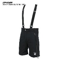 SPYDER〔スパイダーハーフパンツ〕 2017 791542 MENS SOFTSHELL TRAINING-SHORT 001〔BLACK〕