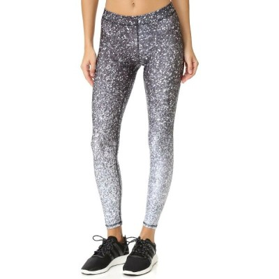 テレ Terez レディース ボトムス レギンス【Black & White Glitter Performance Leggings】Multi