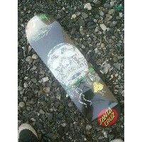 【 SANTA CRUZ 】 GUZMAN DANCE WITH DEATH 8.2×31.9 Skateboard DECK サンタクルーズ スケートボード デッキ