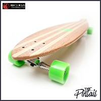 WHITE WAVE ロングスケートボード PINTAIL 40インチ ホワイトウェーブ ロンスケ