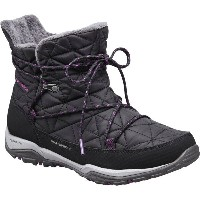 コロンビア Columbia レディース スノー シューズ・靴【Loveland Shorty Omni-Heat Boot】Black/Bright Plum