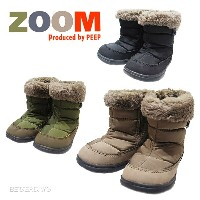 ZOOM ズーム SNOW BOOTS ナイロン スノー ブーツ 1693 雪 靴 キッズ靴 送料無料(北海道・沖縄・離島・運送会社指定は一部負担)【コンビニ受取対応商品】