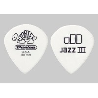 Dunlop 478R Tortex Jazz III White 12枚セット (1.50)