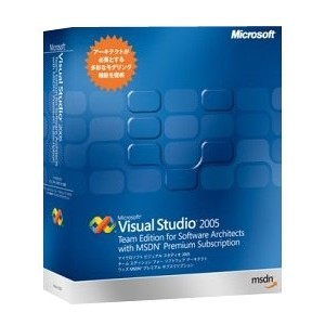 Visual Studio 2005 Team Editionfor for Software Architects with MSDN Premium