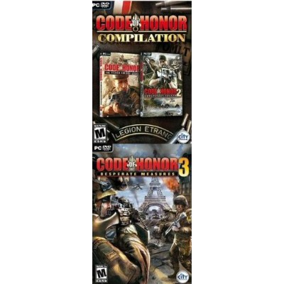 Code Of Honor 3 Pack: The French Foreign Legion / Conspiracy Island / Desperate Measures (輸入版)