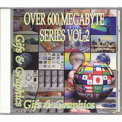 Over 600 Megabyte Series VOL.2「Gifs & Graphics」