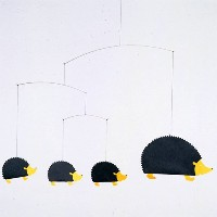 Flensted mobiles フレンステッド モビール 《 Hedgehog Family 》