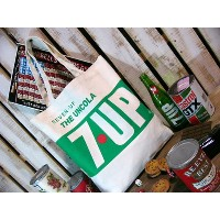 【7up】セブンアップ・キャンバストートバッグ  THE UNCOLA 7UP