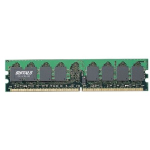 BUFFALO DDR2 533MHz SDRAM(PC4200)240pin DIMM 2GB D2/533-2G