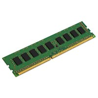 キングストン 4GB DDR3 1600MHz ECC CL11 1R X8 1.5V Unbuffered DIMM PC3-10600 KVR16E11S8/4