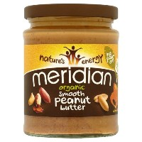 Meridian - Organic Peanut Butter Smooth 100% - 280g