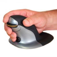 Posturite Wired Penguin Mouse - Medium (9820100) [並行輸入品]