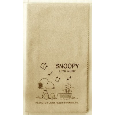 SNOOPY with Music スヌーピー SCLOTH-AM 楽器用クロス