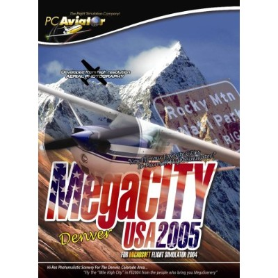 Megacity Denver USA 2005 for Microsoft Flight Simulator 2004 (輸入版)