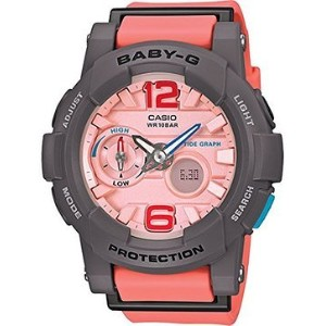 カシオ G-Shock BGA180-4B2 Baby-G Series Stylish Watch - Orange / One Size 女性 レディース 腕時計 【並行輸入品】