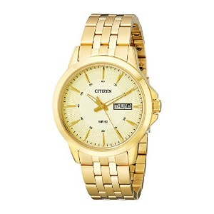 シチズン Citizen Mens メンズ 男性用 BF2013-56P Gold-Tone Stainless Steel Bracelet Watch 腕時計 [並行輸入品]