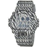 腕時計 カシオ Casio G-ShockDigital Dial Grey Zebra Camouflage Mens Watch DW6900ZB-8CR【並行輸入品】