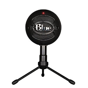 Blue Microphones Snowball Black iCE Condenser Microphone USBマイク Windows/Mac対応 Black iCE ブラック [並行輸入品]