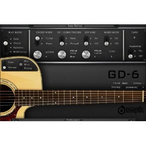 GD-6 Acoustic Guitar -ギター音源-