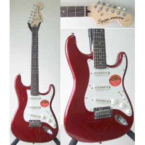 Squier by Fender スクワイア エレキギター Standard Stratocaster CAR/R