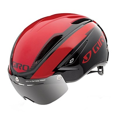 GIRO(ジロ) サイクルヘルメット AIR ATTACK SHIELD BrightRed/ Black L 7066390