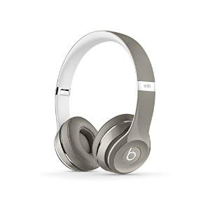 Beats by Dr.Dre ヘッドホン Solo2 Luxe Edition 密閉型 オンイヤー シルバー MLA42PA/A 【国内正規品】