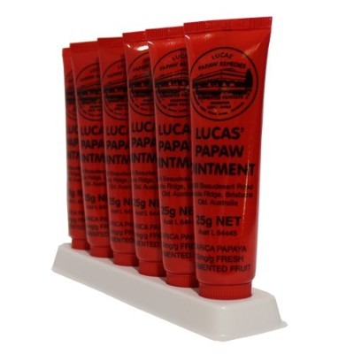Lucas' Papaw Ointment ルーカスポーポークリーム 25g×6本 [海外直送品]