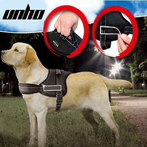 UNHO Dog Body Harness Padded Extra Big Large Medium Small Heavy Duty vary from All kinds of size (L...