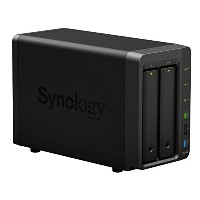 Synology DiskStation DS214+ NAS サーバー