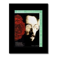 ELVIS COSTELLO - Mighty Like a Rose Mini Poster - 28.5x21cm
