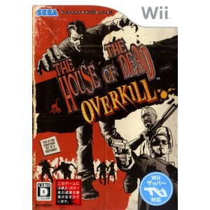 【中古】THE HOUSE OF THE DEAD:OVERKILL