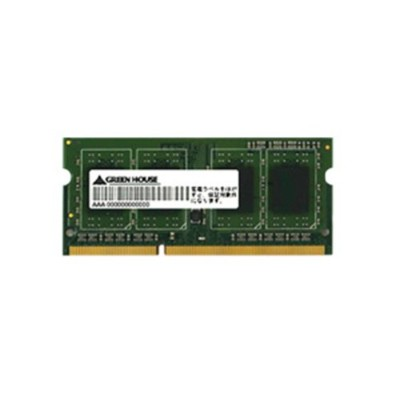 グリーンハウス ノート用 低電圧 PC3L-12800 204pin DDR3L SDRAM SO-DIMM 4GB GH-DWT1600LV-4GB