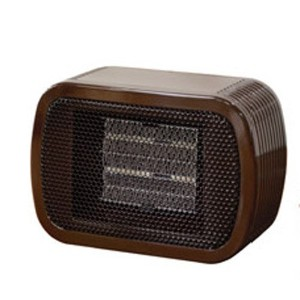 Mini Ceramic Fan Heater BROWN NC41587