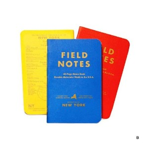 FIELD NOTES COUNTY FAIR 3-PACKS (B)ニューヨーク [FB004]