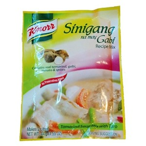 Knorr Sinigang na may Gabi Recipe Mix 44g x 6pcs クノール シニガン ガビの素 44g x 6袋