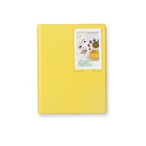 2nul チェキアルバム mini polaroid album L【97枚収納】 (Lemon Yellow)