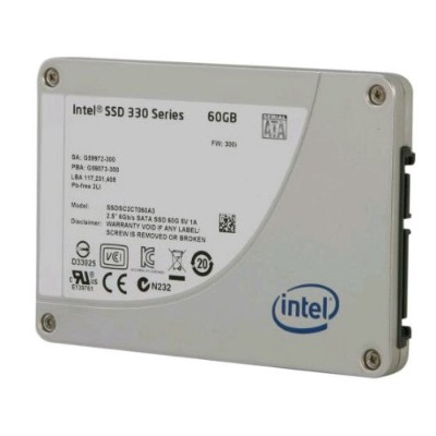 Intel SSD 330 Series Maple Crest 60GB MLC 2.5inch 9.5mm Reseller Box SSDSC2CT060A3K5