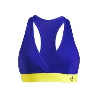 Zumba ズンバ Galaxy V-Bra Top Surf 【並行輸入品】 (XS)