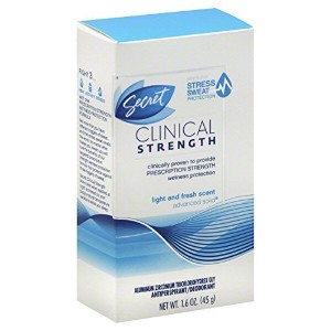 Secret(シークレット) Clinical Strength Advanced Solution, Light & Fresh Scent 1.6 Oz [並行輸入品]