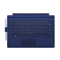 2014 Newest Thin Microsoft Type Cover With Pen Holder Backlit & Gesture mechanical keyboard for...