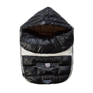 7A.M. ENFANT Baby Shield ベビーカーフットマフ Black 6-18M