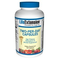 LIFE EXTENSION TWO PER DAY 120 粒 海外直送品