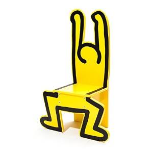 Vilac Keith Haring Chair Yellow ヴィラック キース・ヘリング イエロー チェア 子供用イス