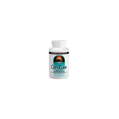 Source Naturals Cat's Claw 1.5% Standardized Extract 500mg 120 Tablets [並行輸入品]
