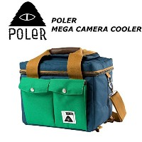POLER CAMPING STUFF 【MEGA CAMERA COOLER】 COLOR;BLUE ポーラー メガ カメラ クーラー 日本正規品