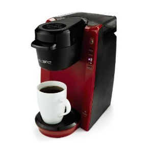 【並行輸入】Mr. Coffee  ミスターコーヒー BVMC-KG5R-001 Single Serve Coffee Brewer Machine, Red コーヒーメーカー