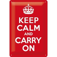 Keep Calm and Carry On / ブリキ看板 TIN SIGN