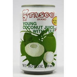 Tasco - Young Coconut Juice With Pulp (310ml) タスコ ココナッツ ジュース